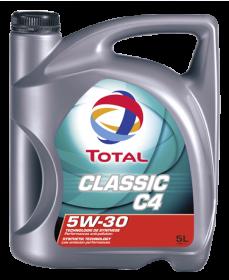 Motorový olej 5W-30 Total Classic C4 - 5 L - Oleje 5W-30