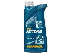 Minerální olej pro pily Mannol Kettenoel - 1 L Oleje pro zemědělské stroje - Oleje pro sekačky, motorové pily a další zemědělské stroje