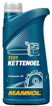 Minerální olej pro pily Mannol Kettenoel - 1 L - Oleje pro sekačky, motorové pily a další zemědělské stroje