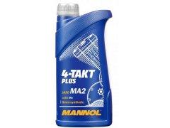 Motorový olej Mannol 4-Takt Plus 1 L Oleje pro zemědělské stroje - Oleje pro sekačky, motorové pily a další zemědělské stroje