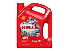 Motorový olej 15W-40 Shell Helix HX3 - 4 L Motorové oleje - Motorové oleje pro nákladní automobily - 5W-30