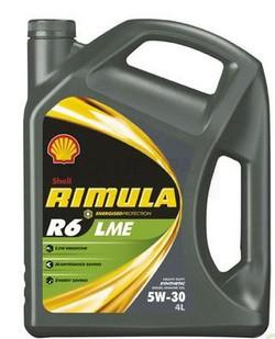Motorový olej 5W-30 Shell Rimula RS6 LME - 4 L - 5W-30