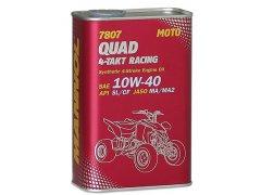 Motocyklový olej 10W-40 Mannol QUAD 4T RACING 7807 - 1 L Motocyklové oleje - Motorové oleje pro 4-taktní motocykly