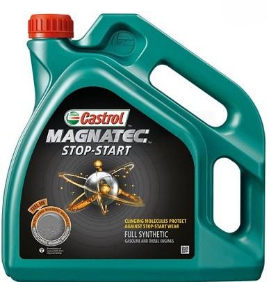 Motorový olej Castrol MAGNATEC STOP-START 0W30 D - 5 L - Oleje 0W-30