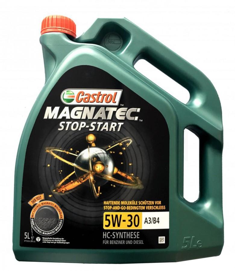 Motorový olej Castrol MAGNATEC STOP-START 5W30 A3/B4 - 5 L - Oleje 0W-30