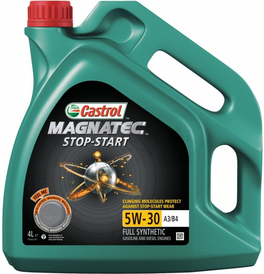 Motorový olej Castrol MAGNATEC STOP-START 5W30 A3/B4 - 4 L - Oleje 0W-30