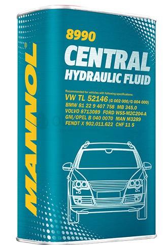 Hydraulická kapalina Mannol Central Hydraulic Fluid 8990 (CHF) - 1 L - Hydraulické oleje pro hydrodynamické převody