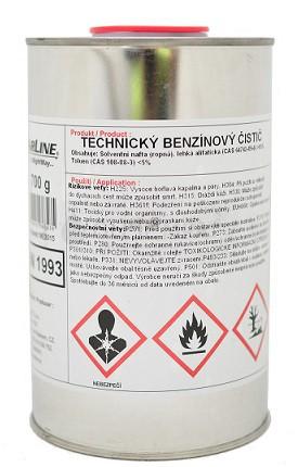 Technický benzínový čistič - 9 L