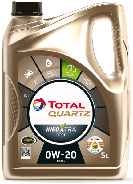 Motorový olej 0W-20 Total Quartz INEO Xtra First - 5 L