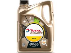 Motorový olej 0W-30 Total Quartz 9000 - 5 L Motorové oleje - Motorové oleje pro osobní automobily - Oleje 0W-30