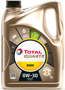 Motorový olej 0W-30 Total Quartz 9000 - 5 L