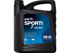 Motorový olej ELF Sporti 7 A3/B4 10W-40 - 5 L Motorové oleje - Motorové oleje pro osobní automobily - Oleje 10W-40