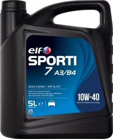 Motorový olej ELF Sporti 7 A3/B4 10W-40 - 5 L - Oleje 10W-40