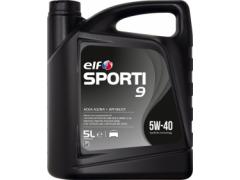 Motorový olej ELF Sporti 9 5W-40 - 5 L Motorové oleje - Motorové oleje pro osobní automobily - Oleje 5W-40