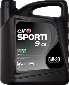 Motorový olej ELF Sporti 9 C2 5W-30 - 1 L