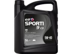 Motorový olej ELF Sporti 9 C3 5W-40 - 5 L Motorové oleje - Motorové oleje pro osobní automobily - Oleje 5W-40