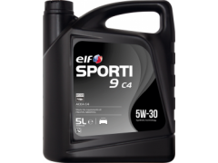 Motorový olej ELF Sporti 9 C4 5W-30 - 5 L Motorové oleje - Motorové oleje pro osobní automobily - Oleje 5W-30