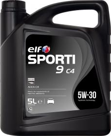 Motorový olej ELF Sporti 9 C4 5W-30 - 5 L - Oleje 5W-30