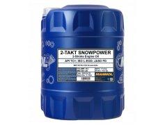 Motorový olej Mannol 2-Takt Snowpower - 20 L Motocyklové oleje - Motorové oleje pro 2-taktní motocykly