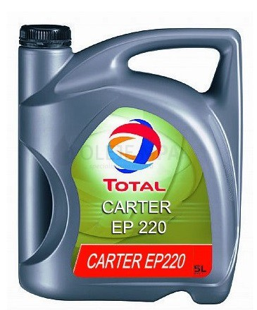 Převodový olej průmyslový Total Carter EP 220 - 5 L - Průmyslové převodové oleje