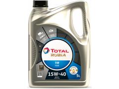 Motorový olej 15W-40 SHPD Total Rubia TIR 7400 - 5 L Motorové oleje - Motorové oleje pro nákladní automobily - 15W-40