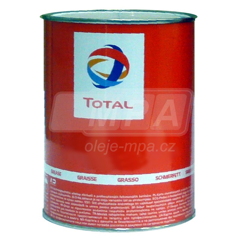 Vazelína Total Multis MS 2 - 5 KG - Třída NLGI 2