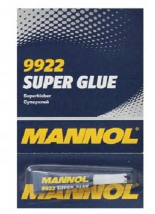Vteřinové lepidlo Mannol Super Glue 9922