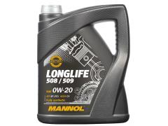 Motorový olej 0W-20 Mannol 7722 Longlife 508/509 - 5 L Motorové oleje - Motorové oleje pro osobní automobily - Oleje 0W-20