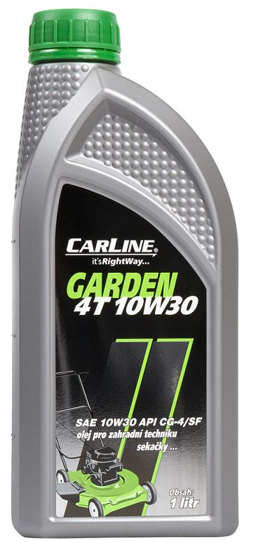 Motorový olej Carline Garden 4T 10W-30 - 1 L