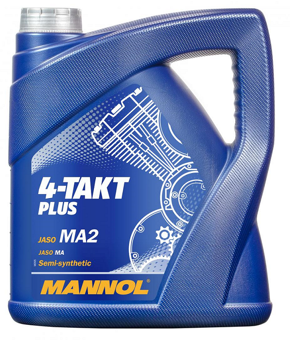 Motorový olej Mannol 4-Takt Plus - 4 L