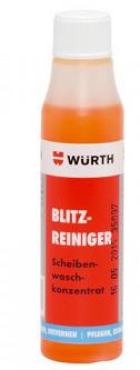 Kapalina do ostřikovačů letní koncentrát WÜRTH bleskový čístič - 32 ML