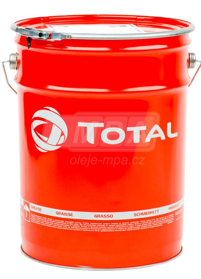 Vazelína Total Multis EP 000 - 18 KG - Třída NLGI 0, 00, 000
