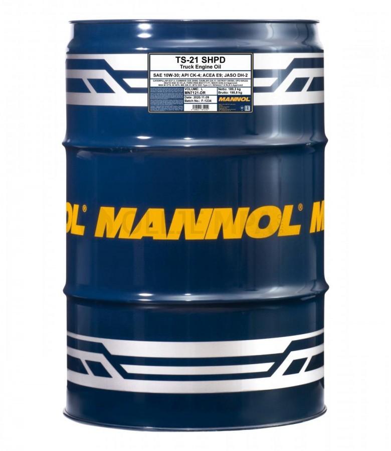 Motorový olej 10W-30 SHPD Mannol TS-21 - 208 L