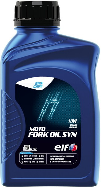 Tlumičový olej SAE 10W Elf Moto Fork Oil - 0,5 L