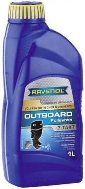 Motorový olej pro lodě Ravenol Outboardoel Fullsynth 2T - 1 L