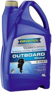 Motorový olej pro lodě Ravenol Outboardoel Mineral 2T - 4 L