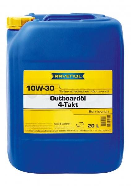 Motorový olej pro lodě Ravenol Outboardoel 4T 10W-30 - 20 L
