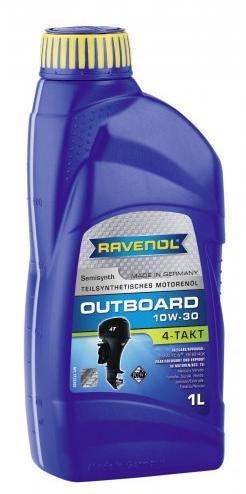 Motorový olej pro lodě Ravenol Outboardoel 4T 10W-30 - 1L