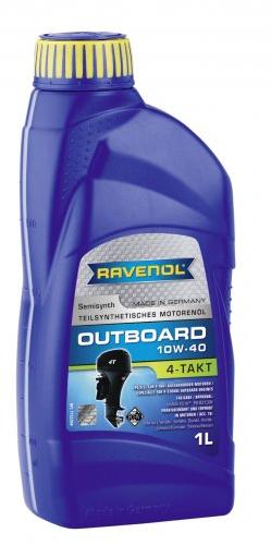 Motorový olej pro lodě Ravenol Outboardoel 4T 10W-40 - 1 L
