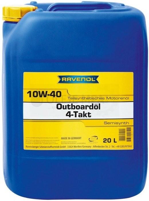 Motorový olej pro lodě Ravenol Outboardoel 4T 10W-40 - 20 L