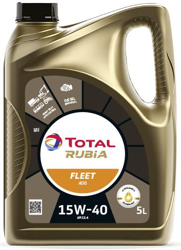 Motorový olej 15W-40 Total Rubia 4400 (Fleet HD 400) - 5 L - 15W-40