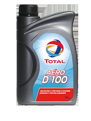 Letecký olej Total Aero D 100 - balení 18x1 L - Letecké oleje