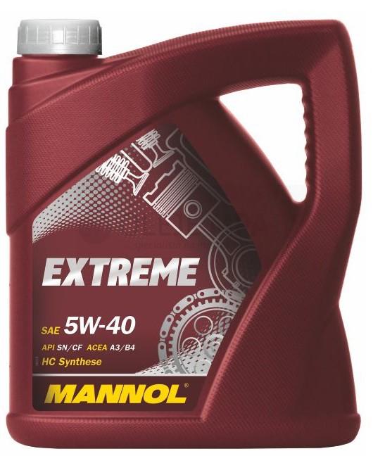 Motorový olej 5W-40 Mannol Extreme - 4 L - Oleje 5W-40
