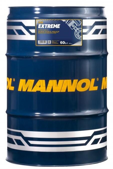 Motorový olej 5W-40 Mannol Extreme - 60 L - Oleje 5W-40