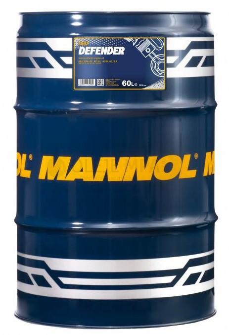 Motorový olej 10W-40 Mannol Defender - 60 L - Oleje 10W-40