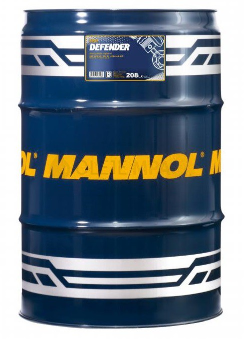 Motorový olej 10W-40 Mannol Defender - 208 L - Oleje 10W-40