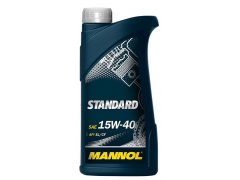Motorový olej 15W-40 Mannol Standard - 1 L Motorové oleje - Motorové oleje pro osobní automobily - Oleje 15W-40