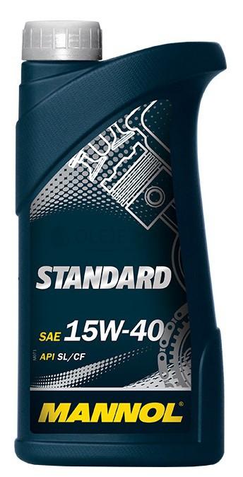 Motorový olej 15W-40 Mannol Standard - 1 L - Oleje 15W-40
