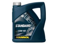 Motorový olej 15W-40 Mannol Standard - 4 L Motorové oleje - Motorové oleje pro osobní automobily - Oleje 15W-40