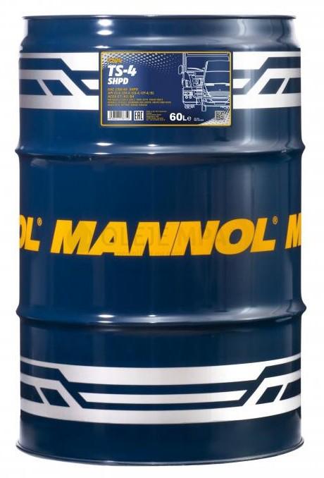 Motorový olej 15W-40 SHPD Mannol TS-4 Extra - 60 L
